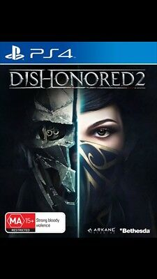 Dishonored II 2 - PS4 - PlayStation 4 - Brand New Sealed
