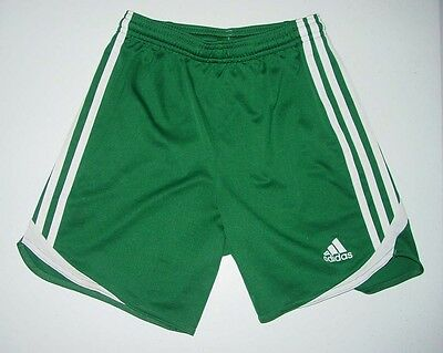 adidas ClimaCool Shorts Green Athletic Soccer Basketball Youth Size Small