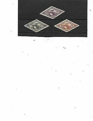 Costa Rica #   C28-C30,  Mng   Stamps Beautiful Coloring