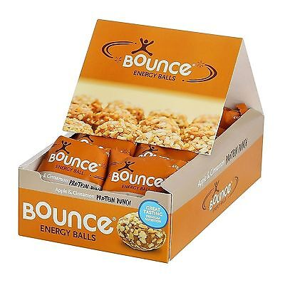 BOUNCE NATURAL ENERGY BALLS APPLE & CINNAMON 12x42g