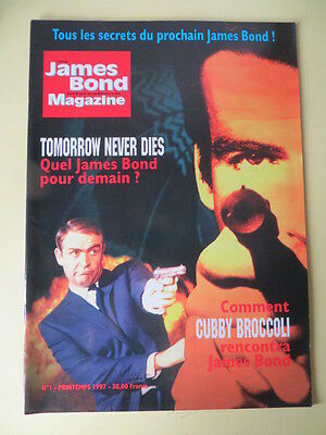 james bond magazine No 1