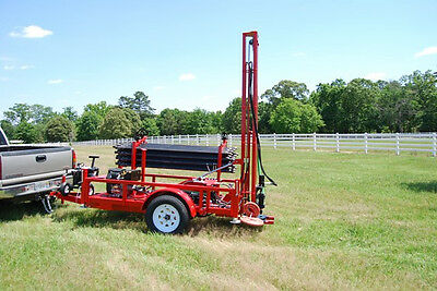 Hydraulic Water Well Drilling Rig Driller Equipment  Pump Tool Geothermal Drill