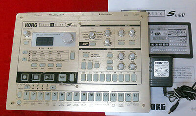 KORG ES-1 MKII Electribe Sampler Drum Machine mk II es1 Loaded w/Factory samples