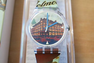 Swatch Special Suoz 245 Grand Magasin Jelmoli Sold In Switzerland Only New