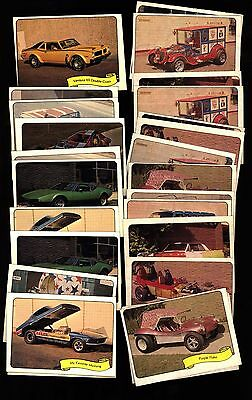 1975 Fleer Kustom Cars George Barris Starter Lot 27 Stickers