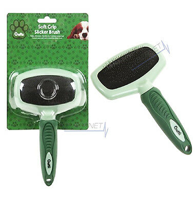 Crufts Dog Puppy Pet Hair Shedding Grooming Trimmer Comb Brush Slicker Rake Tool