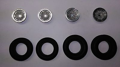 Chaparral 2D Coupe Goodyear Tires + Inserts Set 1966 1/24 Monogram