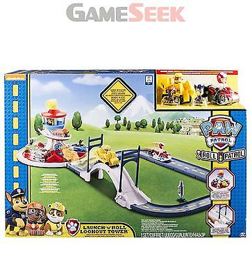 Paw Patrol Launch N Roll Lookout Tower Track Playset (6028063) - Playsets New