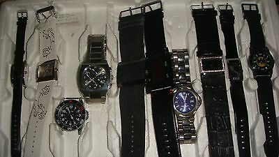 /trade Only Job Lot Of 10 X  Mixed Names  Watches 100% Gen <..///