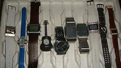 /trade Only Job Lot Of 10 X  Mixed Names  Watches 100% Gen <..//