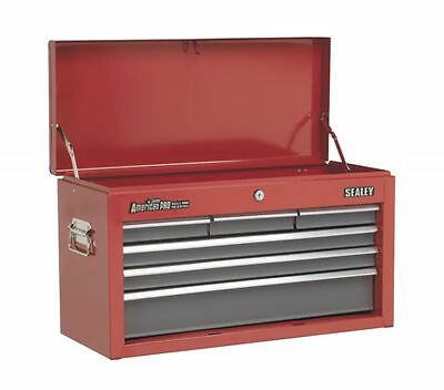 4 Drawer Top Box Red Sealey AP2200BB Tool Chest Storage Top Unit Only