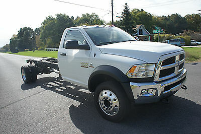 2016 Dodge Ram 5500  2016 dodge ram 5500 cab and chassis brand new