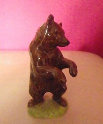 Rare Beswick Bear On Hind Legs Model Number 1314 - Perfect !!