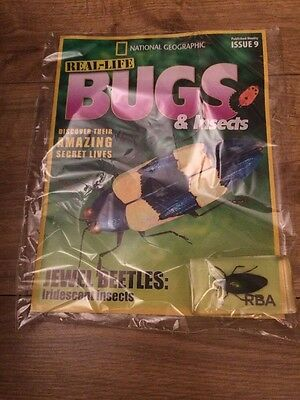 National Geographic Real Life Bugs & Insects Magazine.  Issue 9 Jewel Beetles