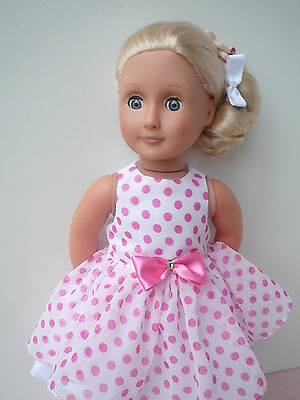 Christmas dress  18 dolls clothes,My Friend Cayla, Our Generation, American girl
