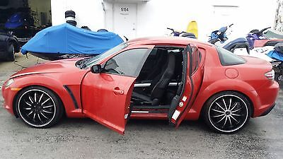 2004 Mazda RX-8 Base Coupe 4-Door 2004 MAZDA RX-8 w/ BAD ENGINE 6 SPEED
