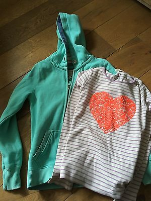 Boden girls top and fleece age 11 -12 years by Boden - Mini Boden and Johnnie B