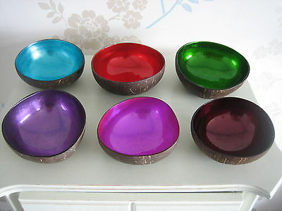 Amazing Coconut Bowls - in Stunning Colours!