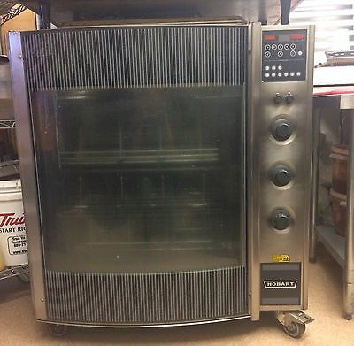 Hobart HR7 1/3-Ph Commercial Electric Rotisserie Oven 208VAC Programmable