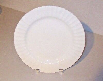 "Classic J&G Meakin English Ironstone 10.5"" White Plate"