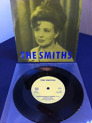 "The Smiths Shakespeare's Sister 7"" Lyntone UK Press Solid Centre RT181 (1985)"