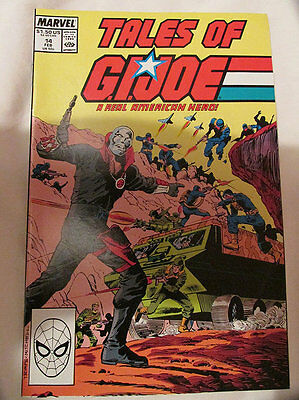 Marvel Comics - Tales Of G.i.joe - No.14 - 1989.