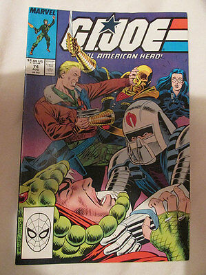 Marvel Comics - G.i. Joe - No.74 - August 1988.