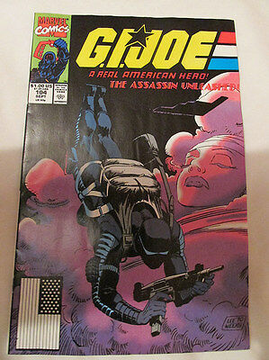 MARVEL COMICS - G.I. JOE - No.104 - 1990.