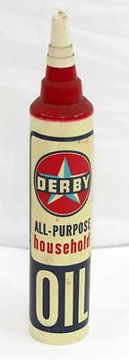 Vintage Full DERBY All-Purpose Household Oil - not Sinclair, Texaco, Standard
