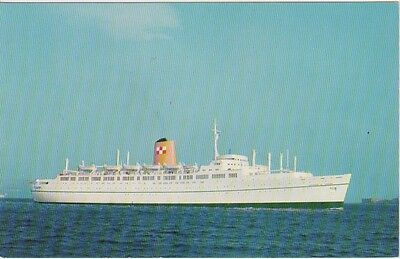 """Ship Postcard: Canadian Pacific Liner - """"Empress of Britain"""""""