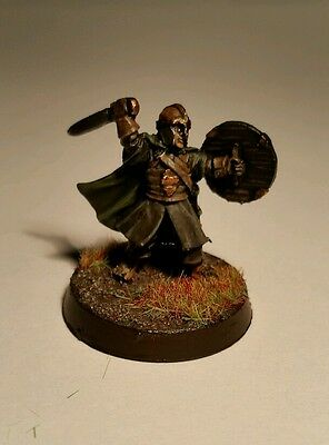 Lord of the Rings warhammer - Merry in Rohan Armour - well painted