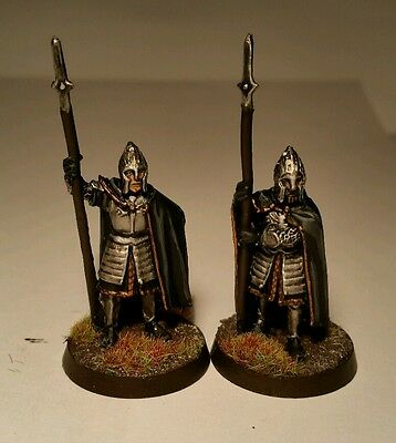Lord of the Rings warhammer - Gondor Guards of the Citadel - well painted