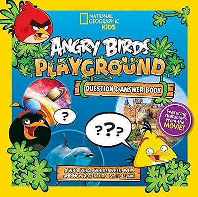 Angry Birds Playground: Question & Answer Book: A Who, What, Where, When, Why, a