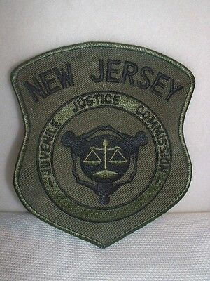 New Jersey Juvenile Justice Commission Embroidered Patch - New & Unused