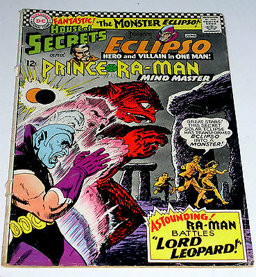 House Of Secrets #78 Silver Age Dc  W/ Eclipso  1966