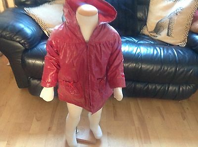 Girls Summer Rain Coat.             (Sergeant Major)