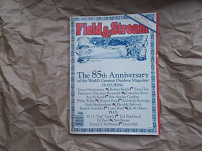 FIELD & STREAM COLLECTIBLE 85th ANNIVERSARY ISSUE  - 1981