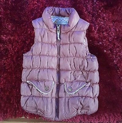 Lovely Next Girls pink padded  Winter Coat 1.5-2years in very good condition