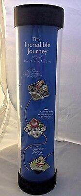 """NEW eBay 10th Anniversary Pin Set """"The Incredible Journey"""""""