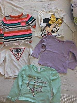 Guess, H&M Baby Girl Tops Bundle