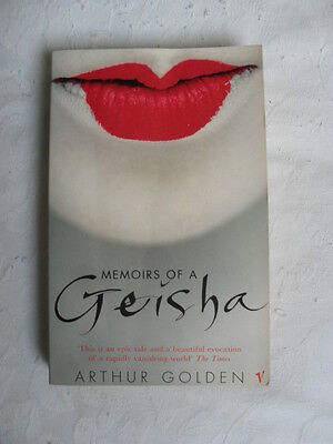 Memoirs of a Geisha by Arthur Golden - paperback book