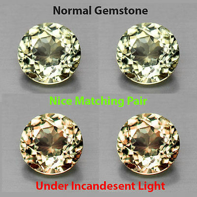 0.60Cts EXQUITISE Gem - Extremely Best Grade Natural Color Change DIASPORE UR051