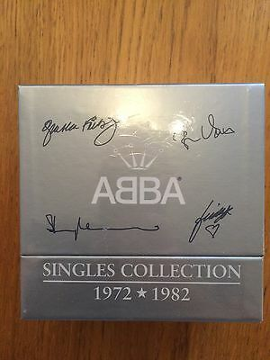 Abba Singles Collection CD Singles Box Set 1972 - 1982 Sealed