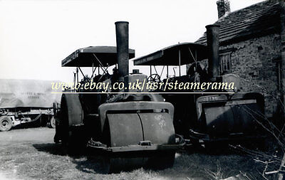 Aveling & Porter 4852 Steam Roller, Steam Traction Engine Photograph