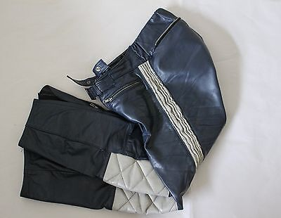 Mens leather motorcycle pants