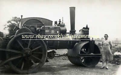 Fowler 7497 Steam Roller, Steam Traction Engine Photograph