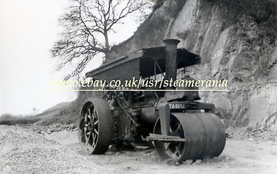 Aveling & Porter 7048 Steam Roller, Steam Traction Engine Photograph
