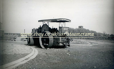 Aveling & Porter Steam Roller, Steam Traction Engine Photograph