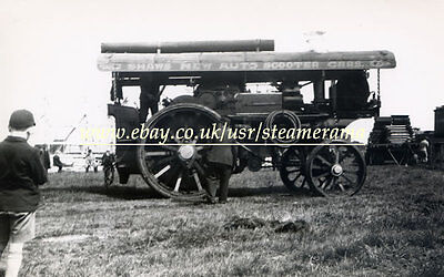 Fowler 11107 Showmans Engine, Steam Traction Engine Photograph
