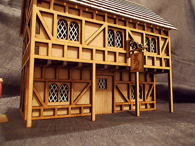 Wargame Scenery White Horse Tavern Kit Would Suit Warhammer Style  Games